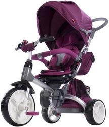 Sun baby little tiger bordowy rowerek trójkołowy 6w1 + prezent 3d