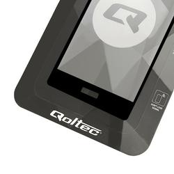 Qoltec Hartowane szkło ochronne Premium do Huawei P9 | Czarne | Pełne