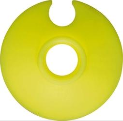Talerzyk racingowy leki sl żółty 50 mm