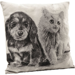 KARE Design :: Poduszka Little Cat and Dog 45x45cm