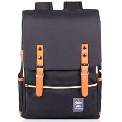 Plecak biznesowy na laptopa solier sv04 czarny - czarny