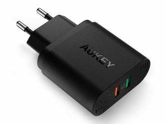 Aukey PA-T13 Ładowarka Sieciowa 2x USB Quick Charge