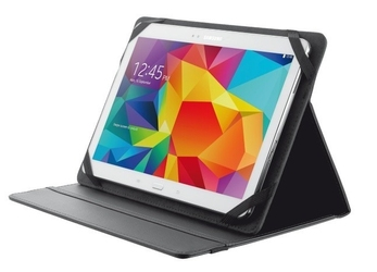 Trust primo folio case with stand for 10 tablets - black