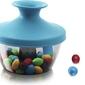 Pojemnik na przekąski popsome candy  nuts niebieski