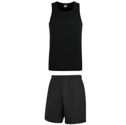 Komplet koszykarski Performance Vest Black