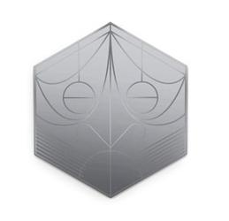 Petite friture :: lustro mask hexagon