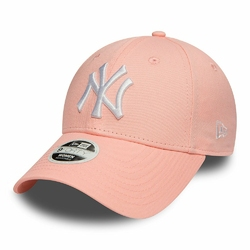 Czapka New Era 9FORTY New York Yankees Essential Pink - 80581112
