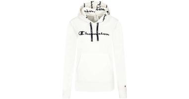 Champion hooded sweatshirt 112580-ww001 xs biały