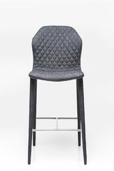 KARE Design :: Hoker  Krzesło barowe Atlantis ciemnoszary
