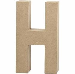 Litera z papier mache 20,5x2,5 cm - H - H