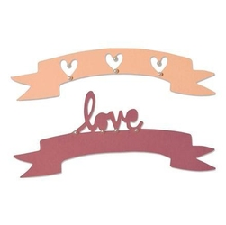 Wykrojnik Sizzix Thinlits LoveWishes 2 szt.