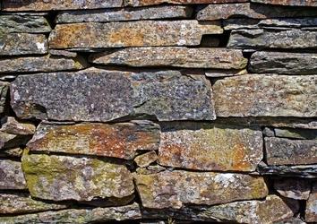 Fototapeta na ścianę kamienny mur fp 87