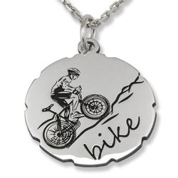 Wisiorek srebrny bike-1