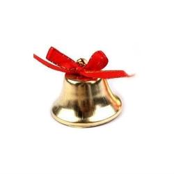 Dzwoneczek dekoracyjny 38 mm - złoty - zło