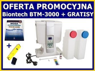 Jonizator wody BIONTECH BTM-3000 naczyniowy 4 litry, NAJNOWSZY MODEL