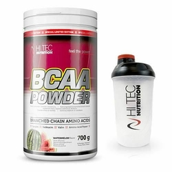 HiTec Nutrition Bcaa Powder 700 g + Shaker - Watermelon