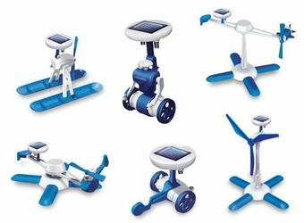 Robot Solarny 6w1 - Zabawka edukacyjna