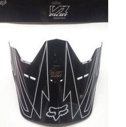 Daszek fox v-1 whitewall black