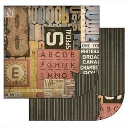 Papier do scrapbookingu 30,2x31,2 cm - 179