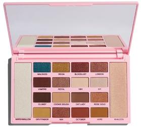 Makeup revolution kisu palette zpaleta cieni i rozświetlaczy
