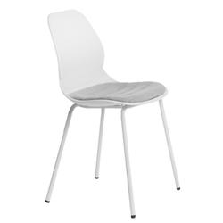 Krzesło layer tap 4 białe - biały