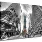 Times Square Silver New York - Obraz na płótnie