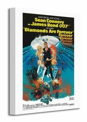 James Bond Diamonds Are Forever - Claw - Obraz na płótnie