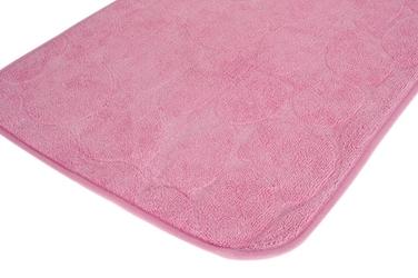 Dywanik łazienkowy 59 x 39 cm jasny różowy