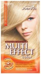 Joanna multi color, szampon koloryzujący w saszetce, 01 piaskowy blond