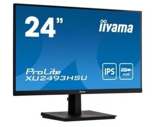 Iiyama monitor 24 cale xu2493hsu-b1 ips.hdmi.dp.2x2w.usb