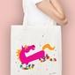 Flying pony torba na zakupy naturalna universal