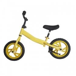 Rowerek biegowy dzieci rower 12 eva ultralekki żółty
