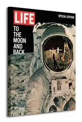 Time Life Life Cover - To The Moon And Back - Obraz na płótnie