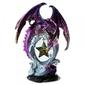 Fioletowy smok z gwiazdą - figurka