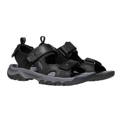 Sandały męskie keen targhee iii open toe sandal - czarny