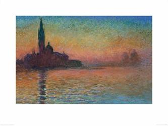 Sunset in Venice - reprodukcja