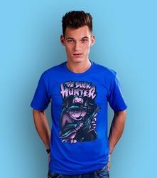 The duck hunter t-shirt męski niebieski xl