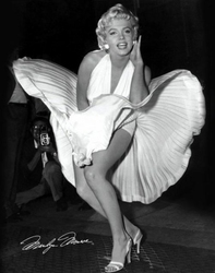 Marilyn Monroe Seven Year Itch - plakat