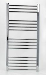 Grzejnik łazienkowy wetherby - elektryczny, wykończenie proste, 500x1000, chromowany