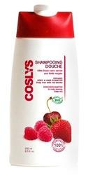 Coslys, Witalizujący Szampon i żel pod Prysznic 2 w 1 z Czerwonymi Owocami, 250 ml