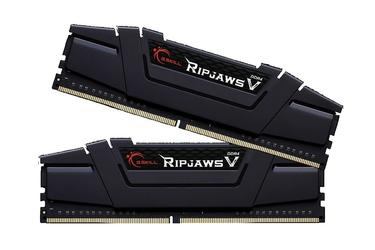 G.SKILL DDR4 8GB 2x4GB RipjawsV 3200MHz CL16 rev2 XMP2 Black