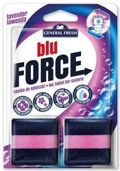 General fresh, blue force, lawenda, kostka do spłuczki,  2 sztuki