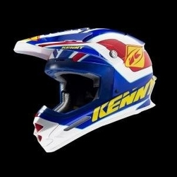 Kenny kask track blueyellowred