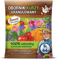 Obornik kurzy – granulowany – 5 l florovit