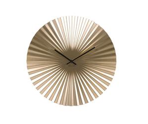 Karlsson :: Zegar ścienny Sensu złoty Ø40cm - mosiężny