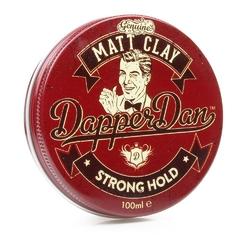 Dapper dan matt clay - pomada do włosów mocny chwytmatowe wykończenie 100ml