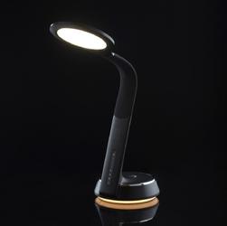 Lampka biurkowa led regulacja światła, obracana 360 demarkt techno 631035501