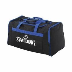 Torba sportowa duża Spalding Basketball Team - czarno-niebieski
