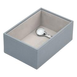 Pudełko na biżuterię open Mini Stackers szaroniebieskie