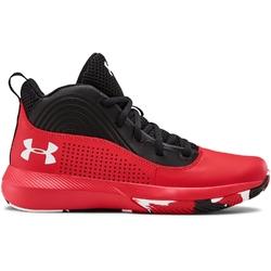 Buty koszykarskie dziecięce ua gs lockdown 4 - czerwony